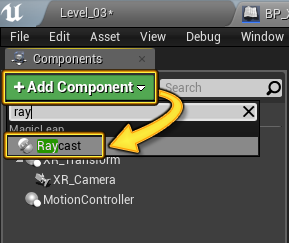 Raycast in Unreal Engine 4 | Magic Leap