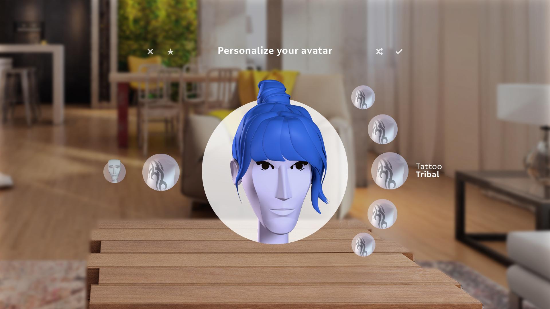 Avatar Personalization Rig | Magic Leap